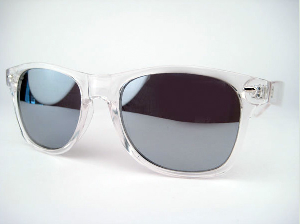 clear ray ban frames