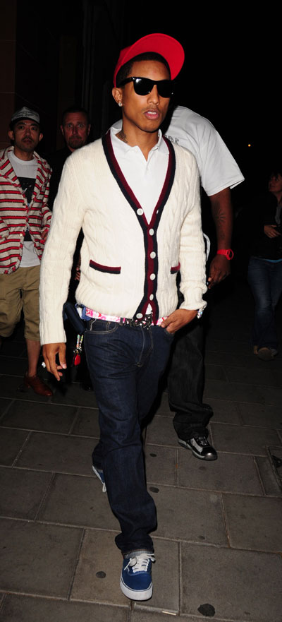 pharrell williams fashion. (Pharrell Williams on the Town